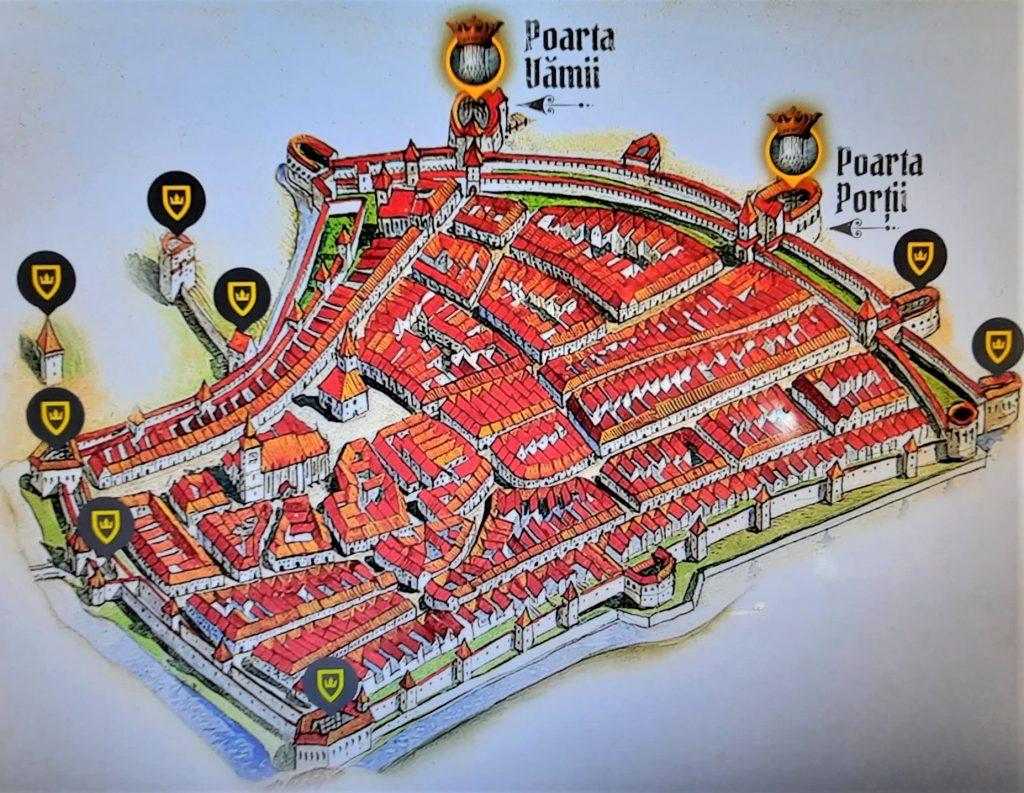 cetatea veche a brasovului